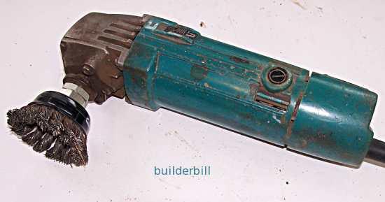 a 100mm grinder