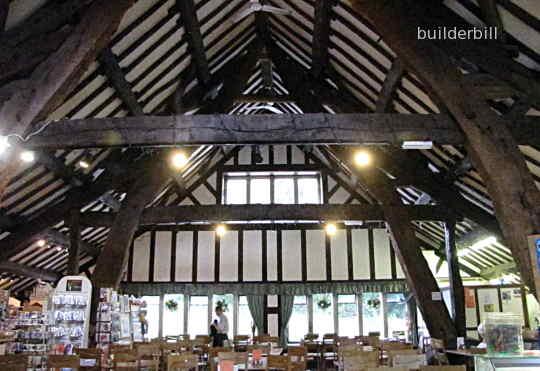 cruck constructed Rivinton Barn