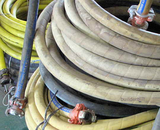 3/4 inch air hoses.