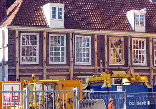 protective shoring in Amsterdam.
