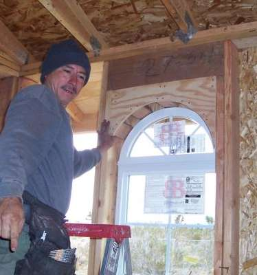 fixing a cut arch