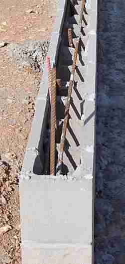 permanent formwork block bond beam