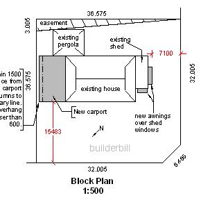 1:500 block plan