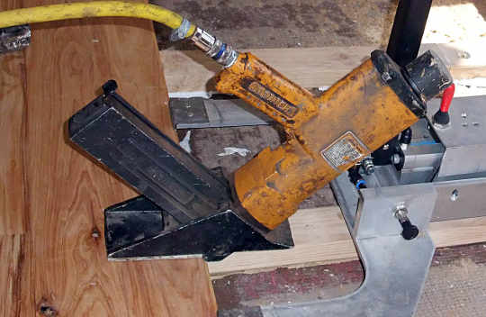 a floor board nailer