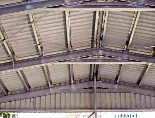 steel shed roof