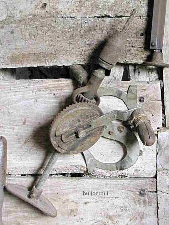 an old breast drill