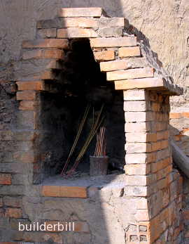 corbelled arch brick kiln Vietnam
