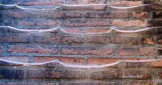brick step  treads