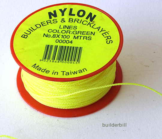 nylon brickies line