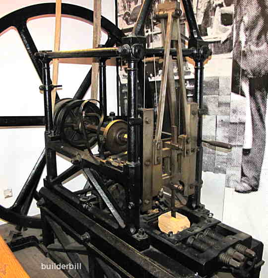 early mortise machine