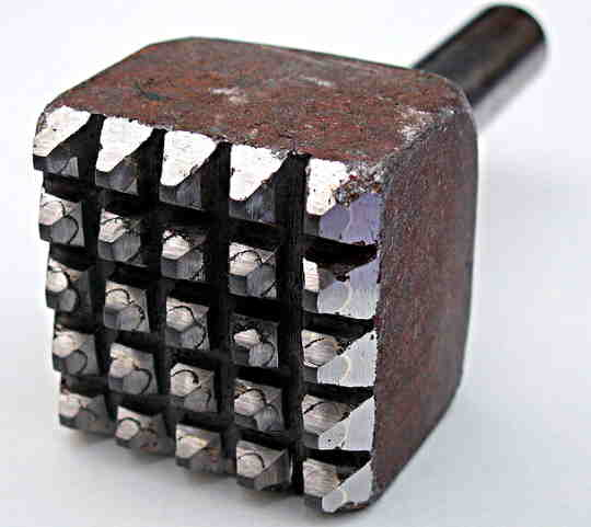 a bush hammer cutter
