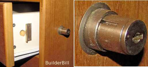 A button lock