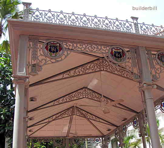 cast iron trusses