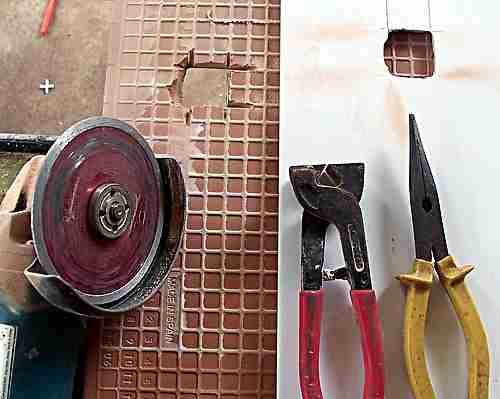 ceramic tile cutting tools