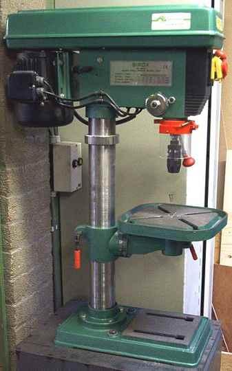A cheap drill press