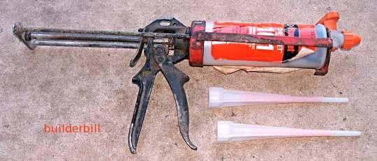 a Ramset chemset and gun