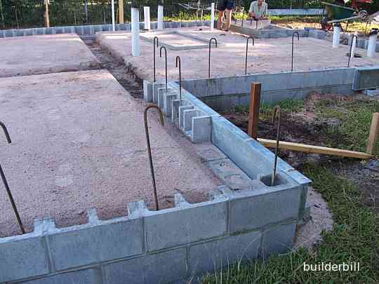 concrete blockwork