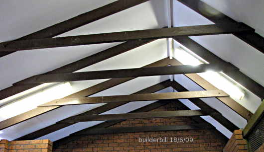 collar ties in exposed roof