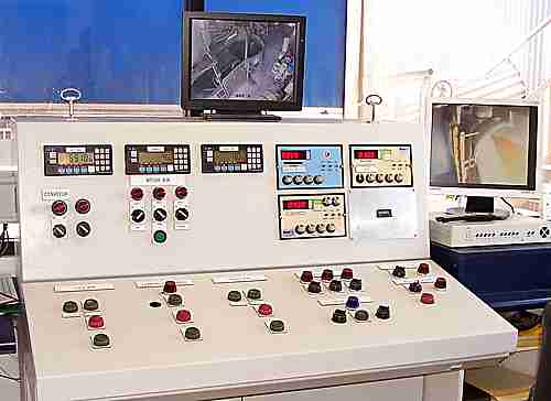 controls for a concrete batching plant.