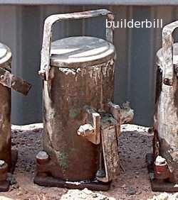 concrete test cylinder