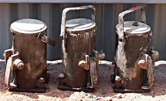 standard concrete test cylinders