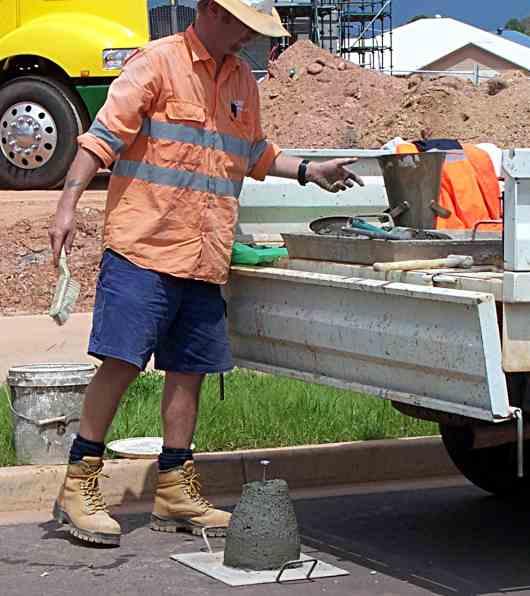 A concrete tester