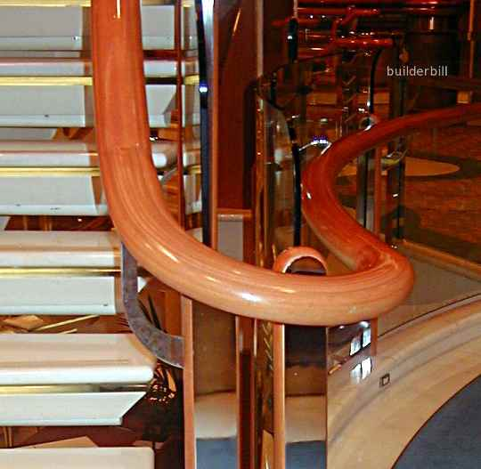continuous hand rails