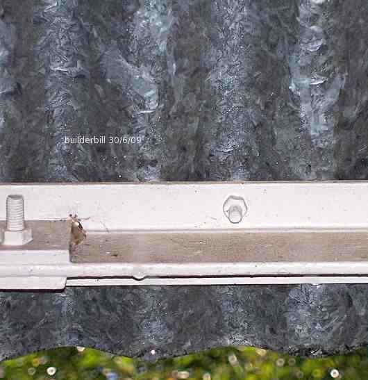 galvanised iron