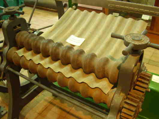 early roll form machine