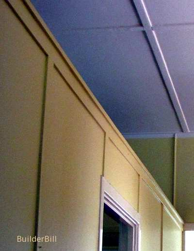 cover battens to wall and ceiling sheet joins