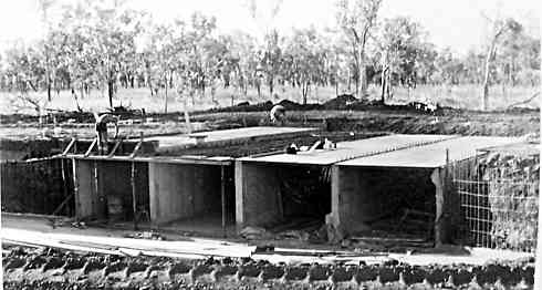 reinforced concrete culvert under Stuart Highway