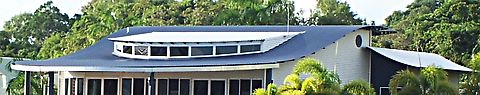 Custom orb roof and wall cladding