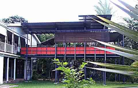 high level deck