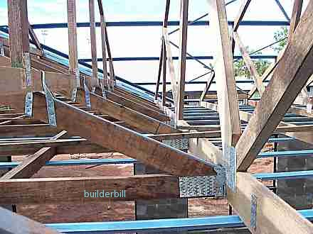 metal nail plate  roof truss