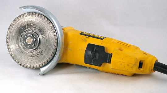 a turbo diamond blade