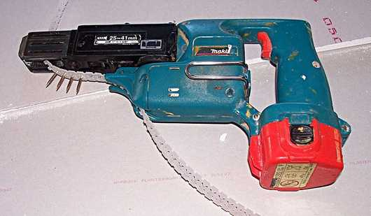 cordless makita drywall gun