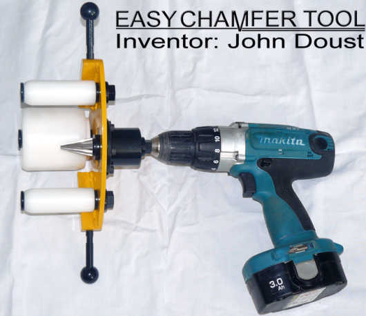 easychamfer in a cordless drill