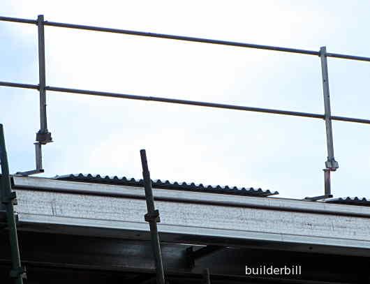 edge protection handrails