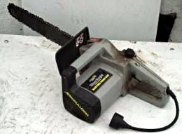 An electric chainsaw
