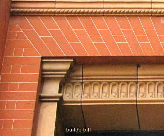 flat arch brickwork
