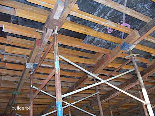 joists for formwork