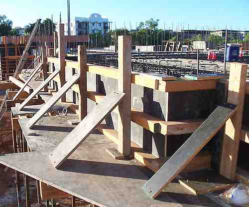 Slab edge formwork