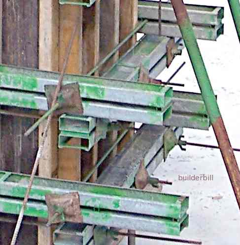 tie bolys used to clam column formwork