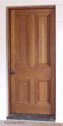 a four panel door