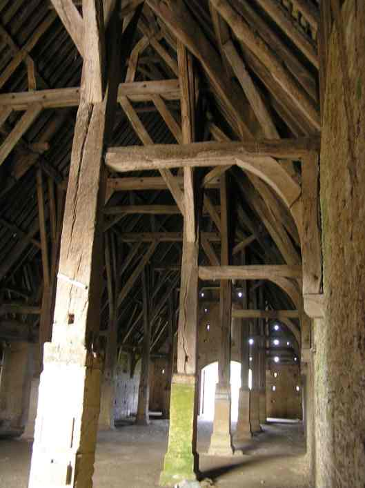 The great barn at Great Coxwell