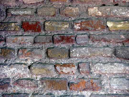 hand made bricks in Ravenna