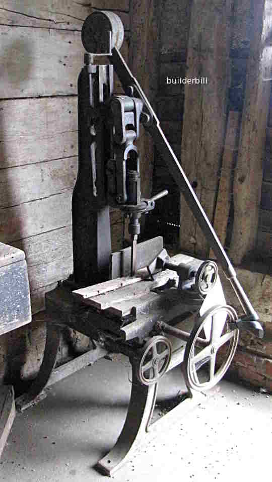 an old mortising machine
