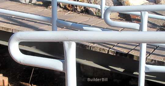 handrail safety terminals