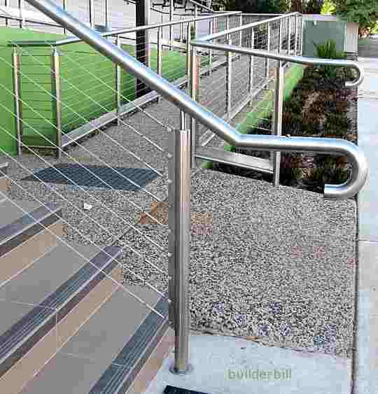 stair handrail extensions