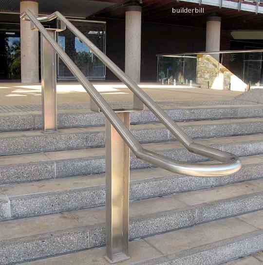 handrail safey terminals